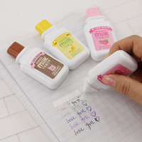 1 x Cute Milky Correction Tape Material Escolar Kawaii Stationery Office School Supplies