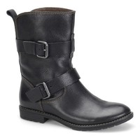 Montana Artisan Crafted Smoky Black Leather Boots