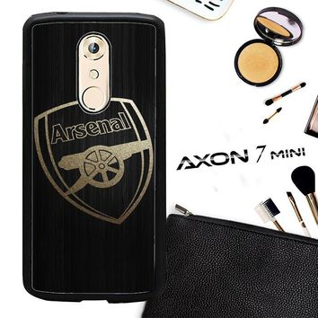 Arsenal Logo Gold O0487 ZTE AXON 7 Mini Case