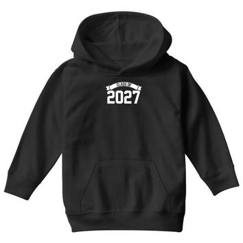 class of 2027 novelty high school elementary Youth Hoodie
