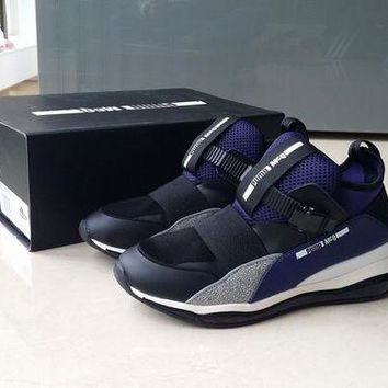 PEAPON3A VAWA Puma MCQ CELL MID Casual Shoes 360519 Sneaker Black Purple