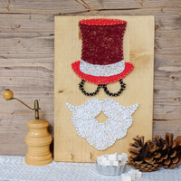Santa Claus wall decor