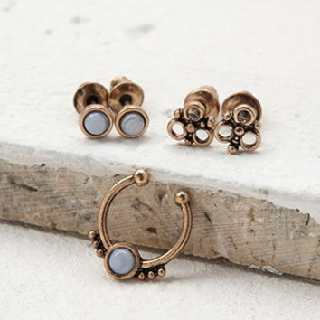 Nose and Stud Ring Set