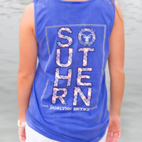 Jadelynn Brooke Keep It Southern Tank Top