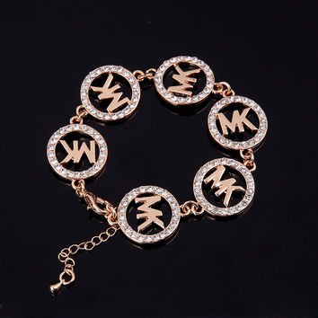 Shiny Gift Great Deal Awesome New Arrival Alloy Hot Sale Fashion Stylish Alphabet Bracelet [8573755149]