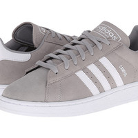 adidas Originals Campus Medium Grey Heather/Solid Grey/White - Zappos.com Free Shipping BOTH Ways