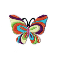Rainbow Butterfly Patch