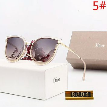 DIOR Women Fashion New Polarized Sunscreen Leisure Travel Eyeglasses Glasses