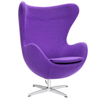 Inner Swivel Chair Fabric, Purple
