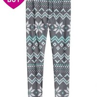 Cozy Print-perfect Leggings | Girls Pants & Leggings Bottoms | Shop Justice