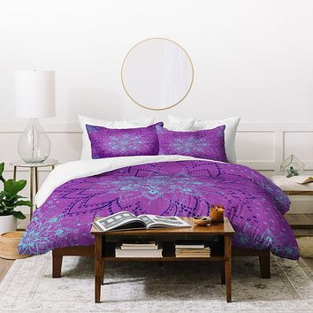 RosebudStudio Purple Dream Duvet Cover
