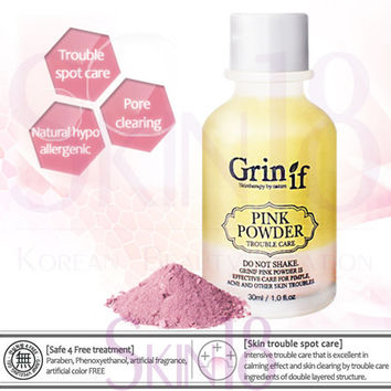 Grinif Pink Powder for Trouble Care