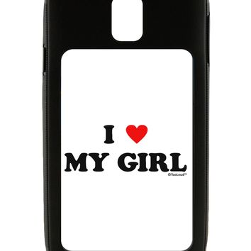 I Heart My Girl - Matching Couples Design Galaxy Note 3 Case  by TooLoud