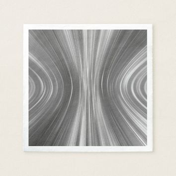 Gray Mist Driving Dreams Paper Napkins