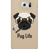 Pug Life Funny Dog illustration Samsung Galaxy S6 Covers