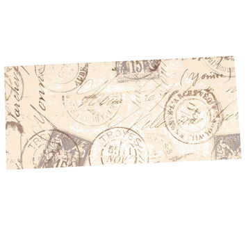 "Heidi Jennings ""World Traveler"" Brown Desk Mat"