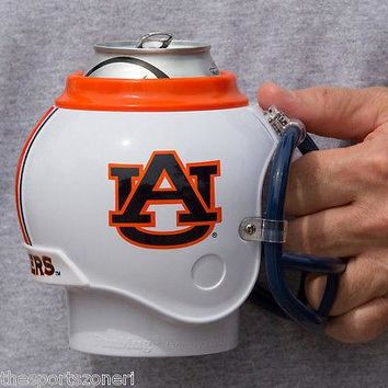 Auburn Tigers All in One Helmet,  Bottle, Can Cooler Mug and Desk Caddy