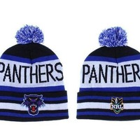 Carolina Panthers Beanies New Era Nrl Football Hat