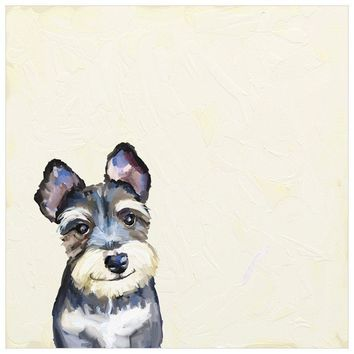 Best Friend - Schnauzer Wall Art