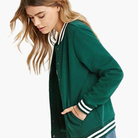Striped Jacket with Pocket