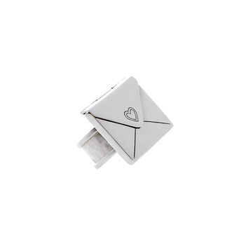 Love Letters Grande Sterling Silver Envelope Ring