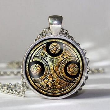 Dr Who time chain handmade Necklace