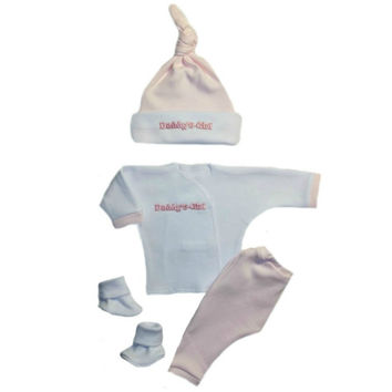 Daddy's Girl 4 Piece Baby Clothing Outfit