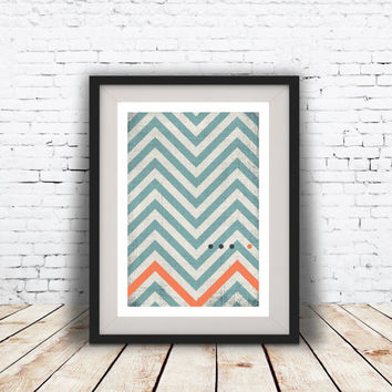 Abstract art Geometric art Retro poster Minimal Modern Scandinavian Nordic Style Abstract Digital poster print INSTANT DOWNLOAD.