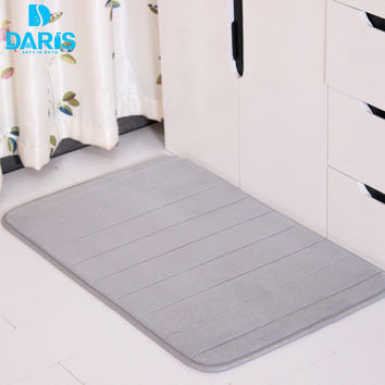 Suede Rugs And Carpets Bathroom Mat Silicone Toilet Floor Shaggy