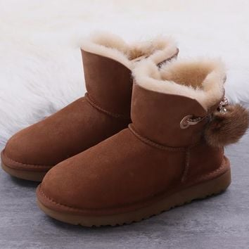 Women's UGG snow boots Low boots DHL _1686248855-384