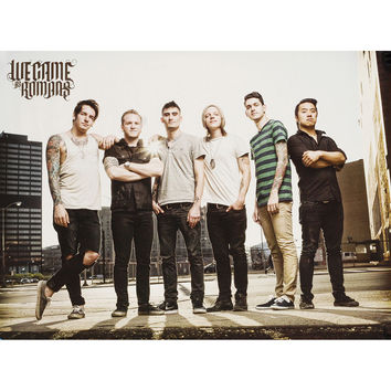 We Came As Romans Concert Promo Poster