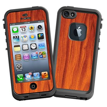 Mahogany Skin for the iPhone 5 Lifeproof Case by skinzy.com