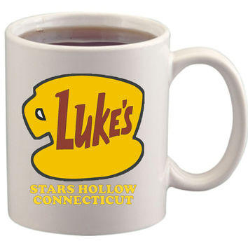 Luke's Diner Stars Hollow Connecticut Gilmore Girls coffee mug