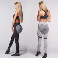 Heart Leggings Summer Yoga Pants Jogging Sportswear [10831646279]