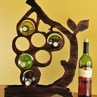Grape Vine Wine Rack