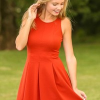Fall Favorite Dress-Pumpkin Spice