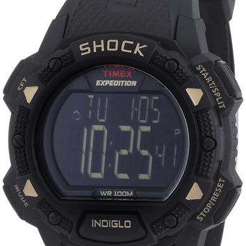Timex Expedition Shock Digital Black Resin Mens Watch T49896