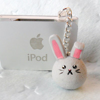 Dust Bunny Dust Plug, Cute, Kawaii :D