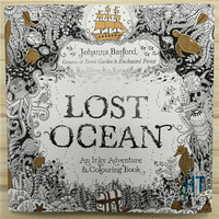 88 Pages Lost Ocean Coloring Books For Adults Childs Graffiti Painting Secret Garden Style Drawing Book 1110
