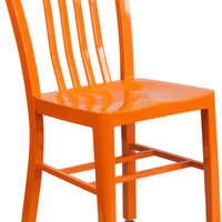 Metal Indoor-Outdoor Chair (Multiple Colors)