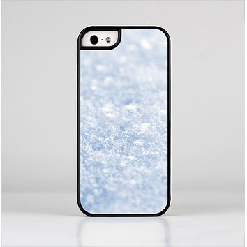 The Sparkly Snow Texture Skin-Sert for the Apple iPhone 5-5s Skin-Sert Case