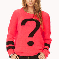 Totally Clueless Open-Knit Sweater | FOREVER 21 - 2000065955
