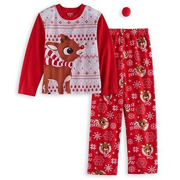 Rudolph The Red Nose Reindeer Childrens Pajamas