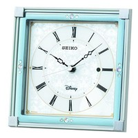 SEIKO CLOCK ( Seiko clock ) Disney Cinderella radio table clock ( white pearl paint ) FS202W