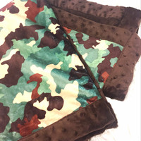 Brown Minkey With Camo