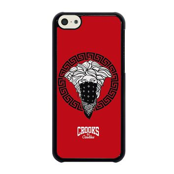 CROOK AND CASTLES BANDANA RED iPhone 5C Case