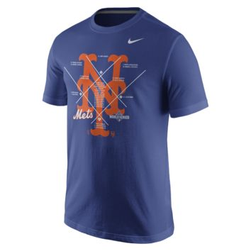 Nike Playoff Bound Roster (MLB Mets) Men's T-Shirt
