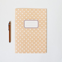 Around by O-Check Polka Dot Notebook