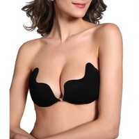 HDE Sexy Strapless Backless Self Adhesive Invisible Push-up Wing Bra Breast Pad