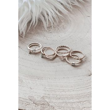 Aren't You Glad I Didn't Say Nine Eight Piece Ring Set